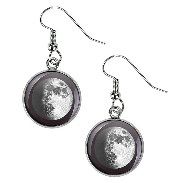 Waxing Gibbous I Luna Earrings