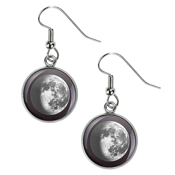 Waning Gibbous III Luna Earrings
