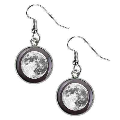 Full Moon Luna Earrings