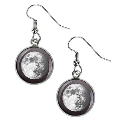 Waxing Gibbous III Luna Earrings