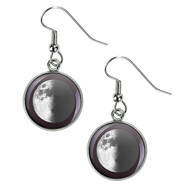 First Quarter Luna Earrings