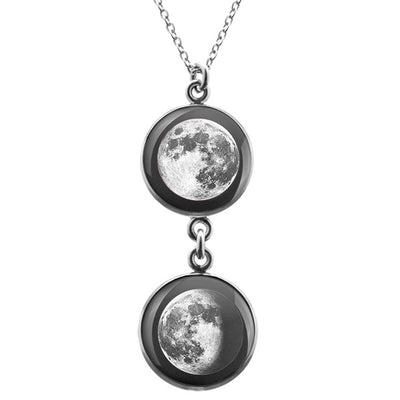 Full Moon Duo Luna Necklace