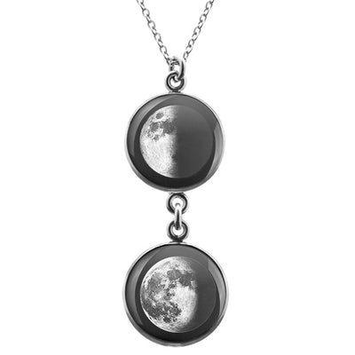 First Quarter Duo Luna Necklace