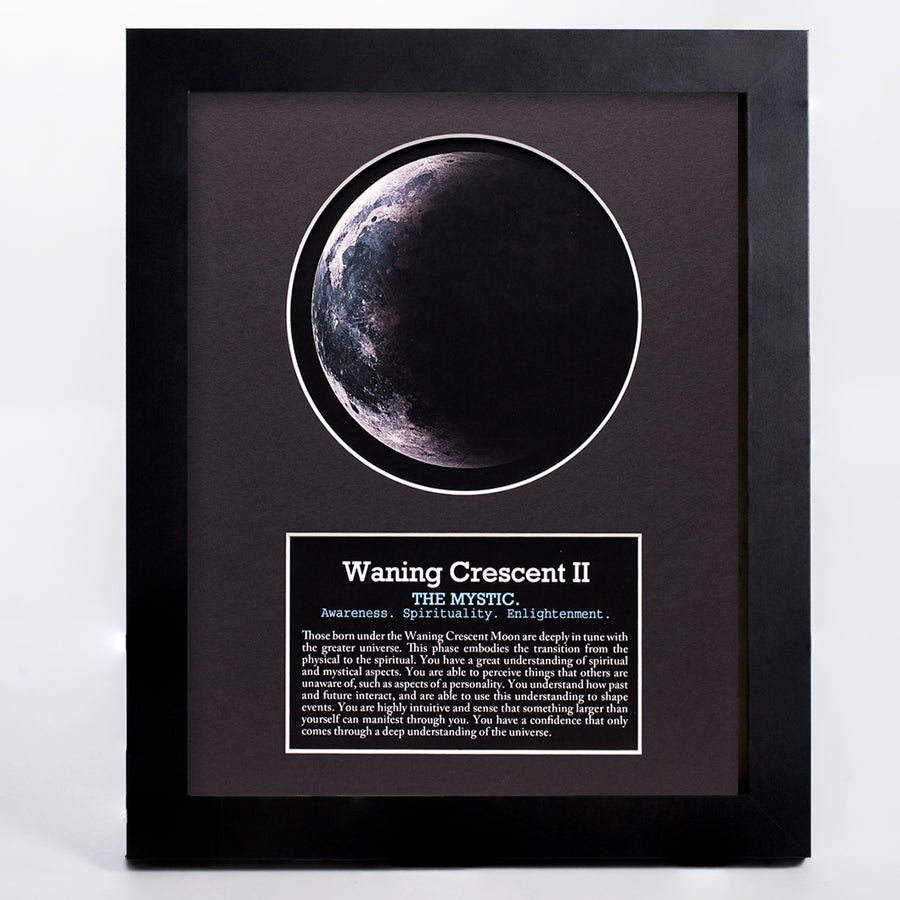 Waning Crescent II Moon Art
