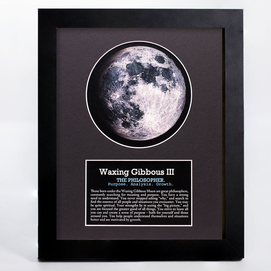 Waxing Gibbous III Moon Art