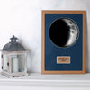 "Waxing Crescent III 12"" x 18"" Moon Phase Art"