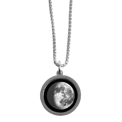 Waning Gibbous III Gravity Necklace