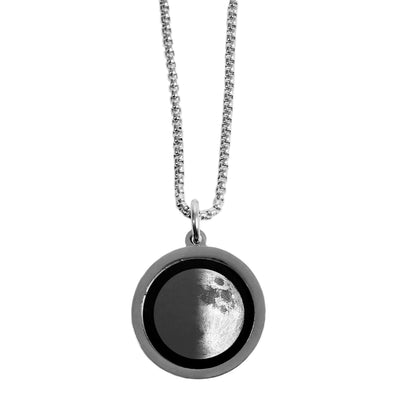First Quarter Gravity Necklace