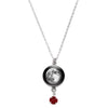 Waning Gibbous I Swarovski Birth Month Luna Necklace