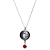 Waning Gibbous II Swarovski Birth Month Luna Necklace