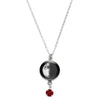 First Quarter Swarovski Birth Month Luna Necklace