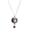 Waxing Gibbous I Swarovski Birth Month Luna Necklace