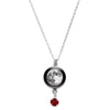Full Moon Swarovski Birth Month Luna Necklace