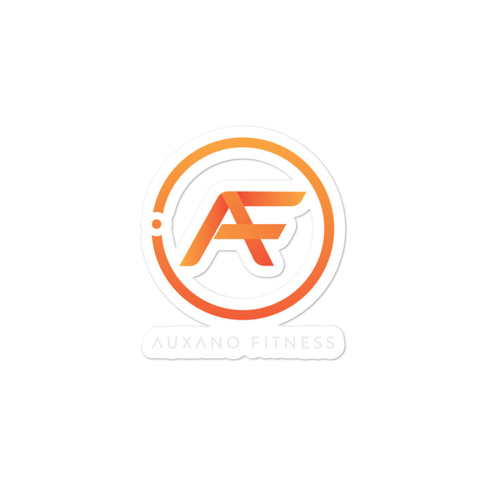 Auxano Fitness AF Bubble-free stickers