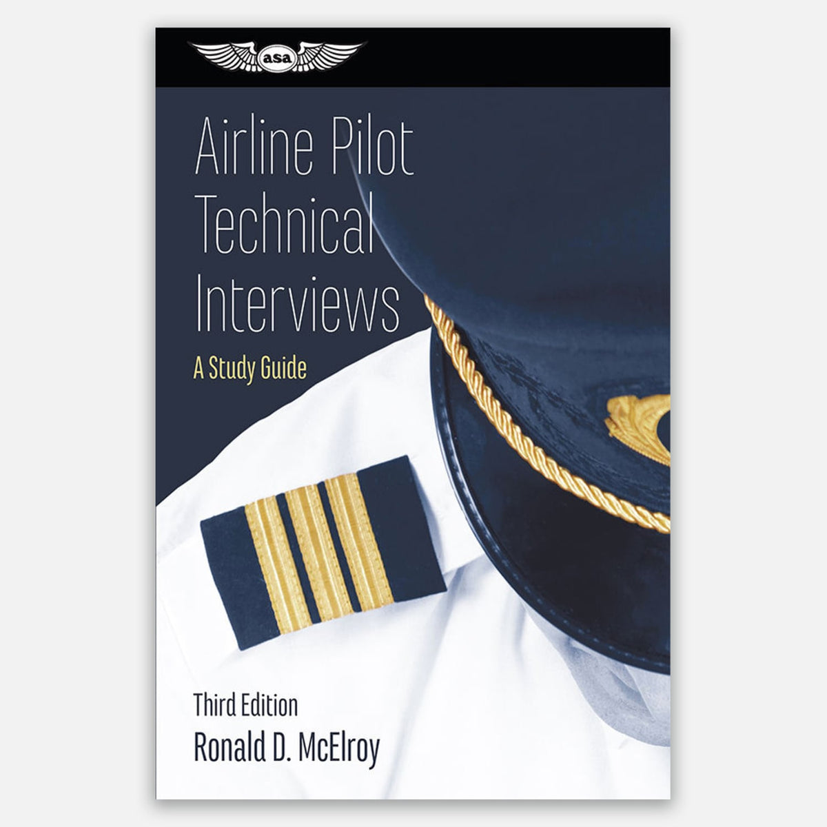 Cage Marshall Consulting Book Cover - Airline Pilot Technical Interviews: A Study Guide