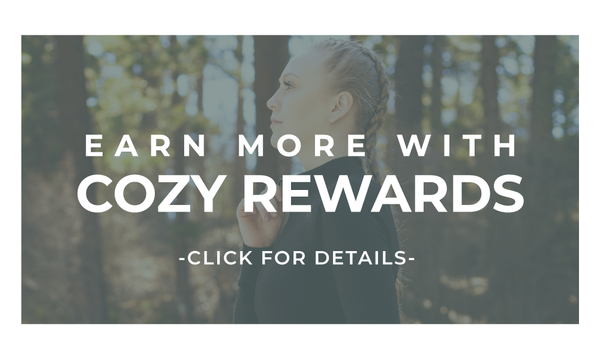 cozy rewards is a way for you to save more on our merino wool products. click for details