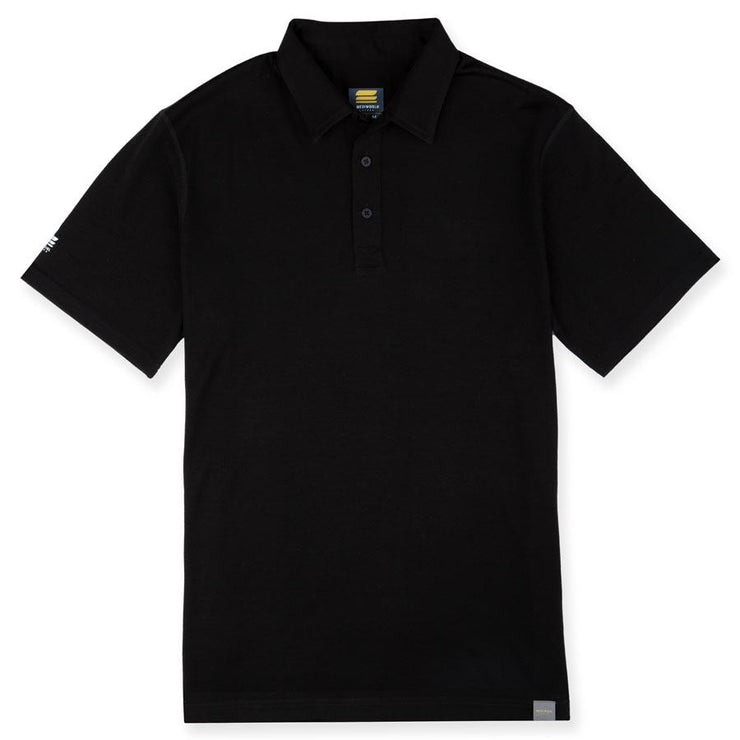 MEN'S MERINO 190 BASE LAYER SHORT SLEEVE POLO SHIRT