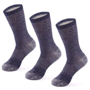 Wool Socks: Merino Wool Midweight Crew Socks - Sequoia