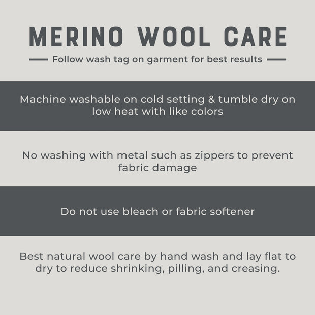 merino wool washing instructions