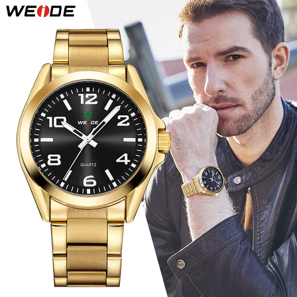 Business Quartz Stainless Steel watches