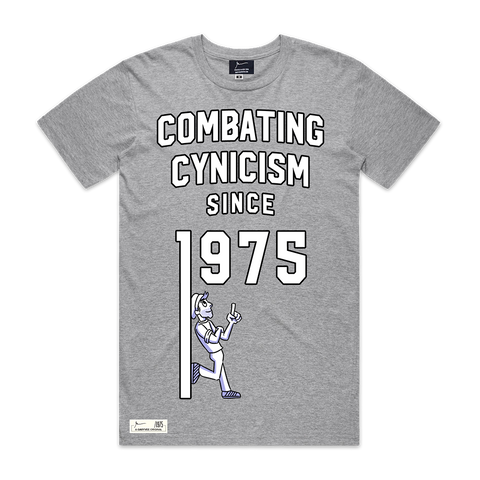 Combating Cynicism Since 1975 | T-Shirt