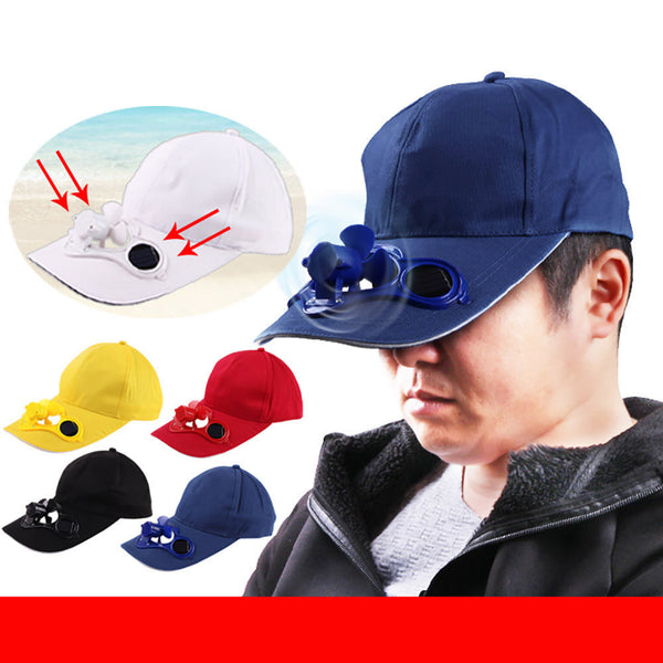 Solar Power Cap - Quickway Gadgets