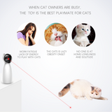 Automatic LED Laser Interactive Cat Toy