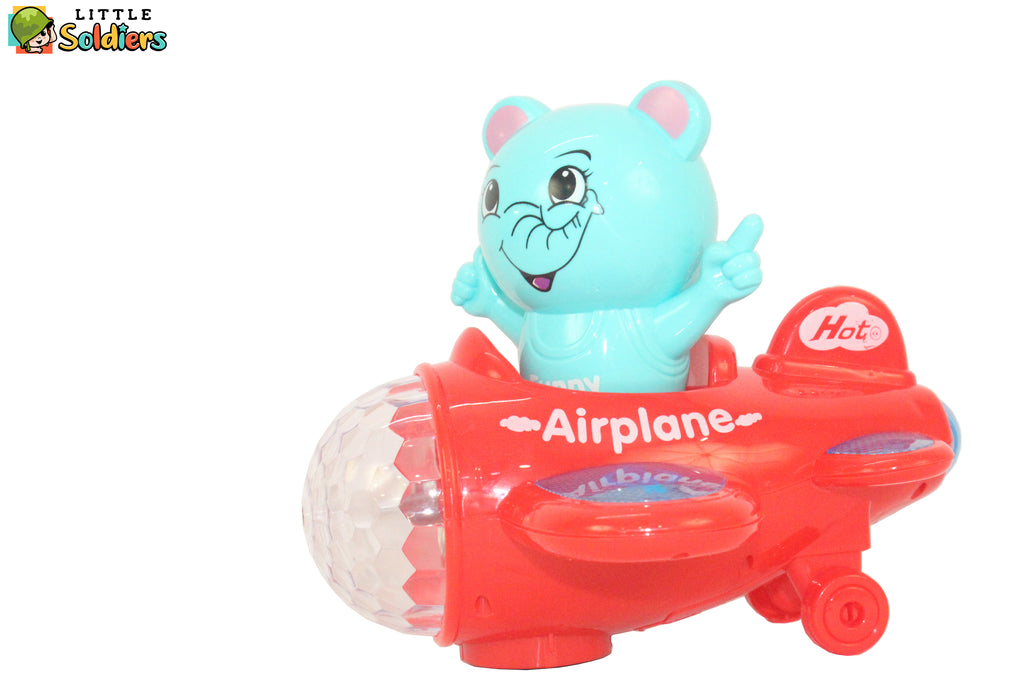 Cartoon Air Craft Toy For kids | Little Soldiers