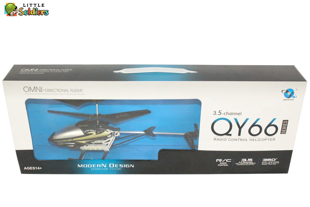 3.5 Channel Omni Directional R/C Helicopter | Little Soldiers