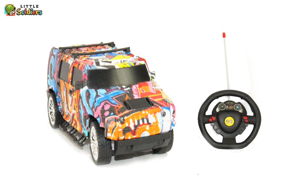 1:18 Scale Steering Controlled Super Speed Car | Little Soldiers