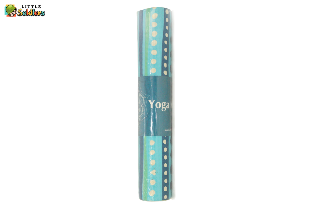 Little Soldiers Yoga Mat Dots Design (Soft)