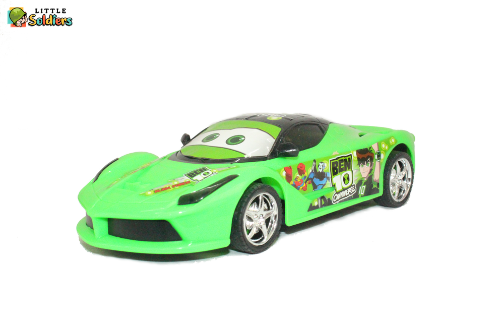 Little Soldiers 1:18 R/C 4 Channel Speed Racing Car Kids Toy