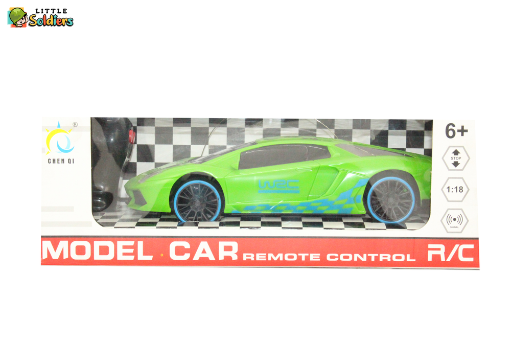 Chen Qi Model Car Remote controlled Kids Toy Green | Little Soldiers