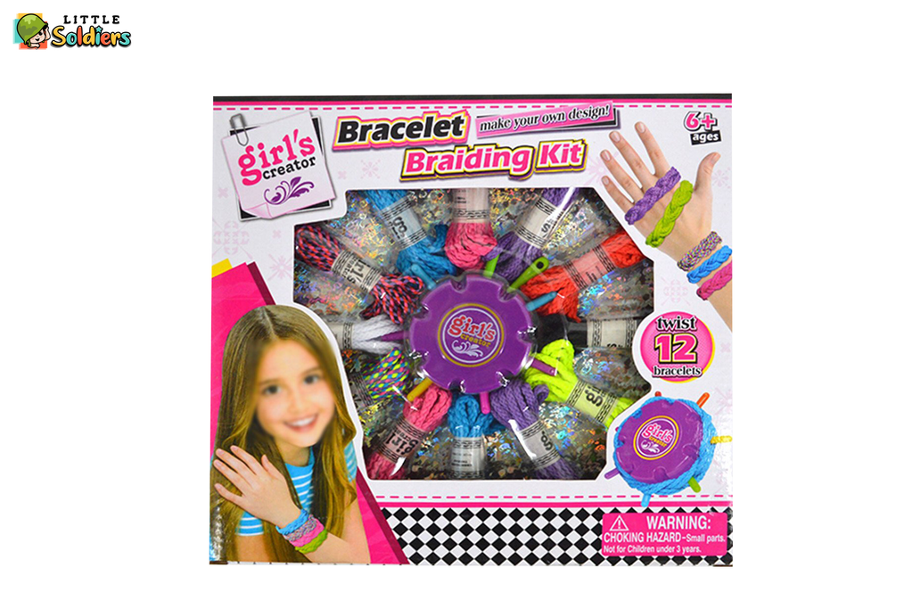 Bracelet Braiding Kit For girls | Little Soldiers