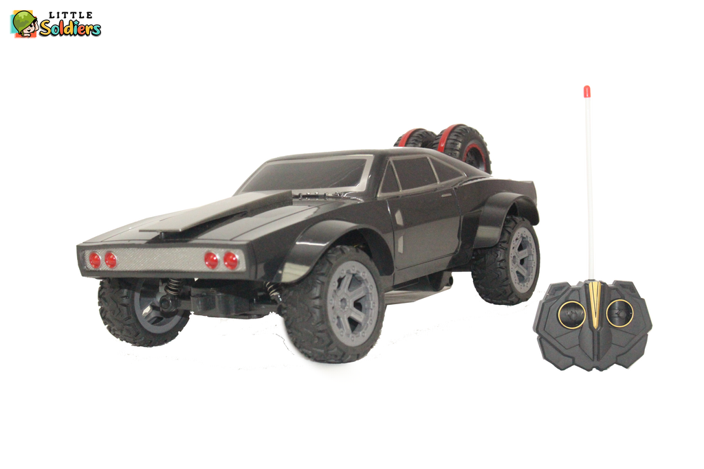 Little Soldiers Fast & Furious High Speed Remote Controlled Car Kids Toy