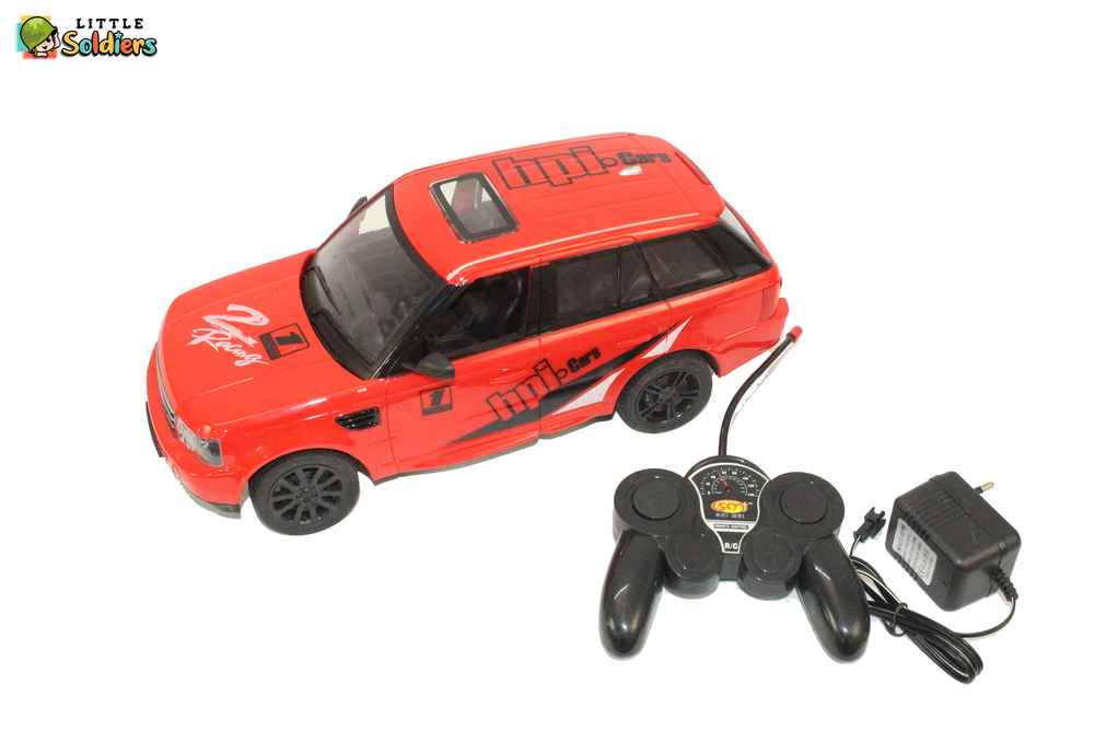 Little Soldiers Perfect control Racing Remote Controlled SunRoof Model Car - Red