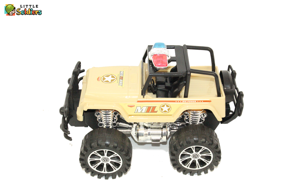Little Soldiers Fun Jeep Kids Toy