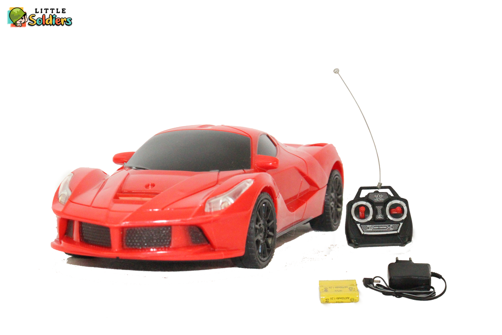 Little Soldiers XY Series Lancer Racing Car Remote Controlled Red