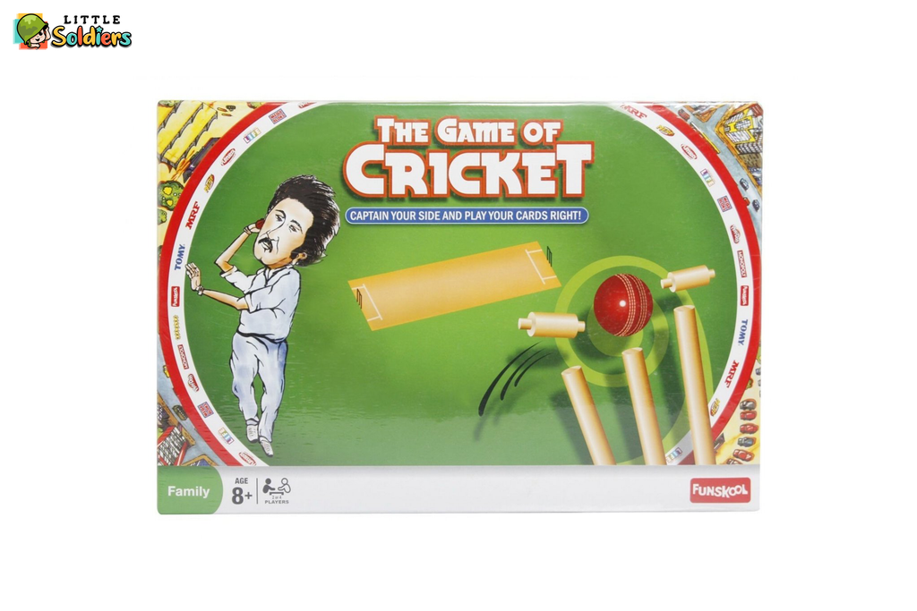 Funskool Cricket (Howzzat) Strategy Game Board Game