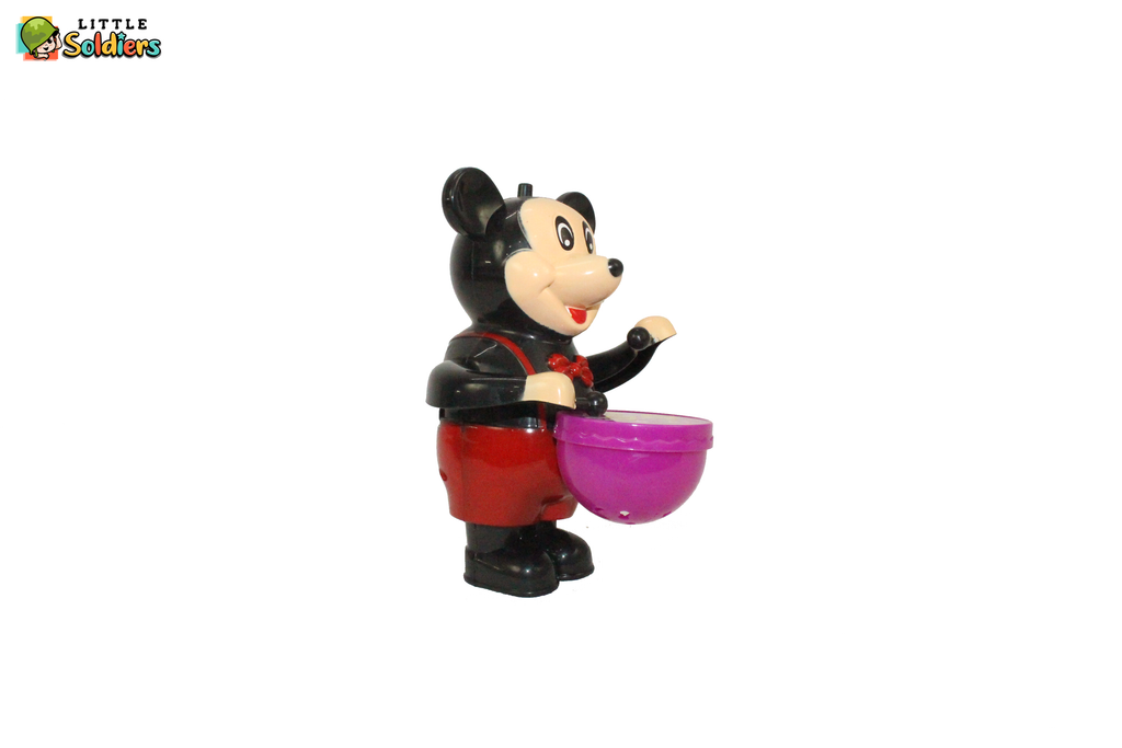 Drumming Mickey  Doll  cartooned Kids fun toy | Little Soldiers