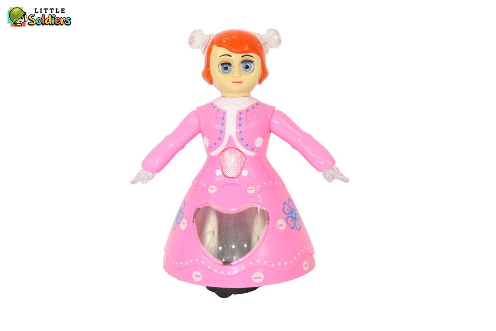 Dancing Barbie princess Doll Battery Operated Toy | Little Soldiers