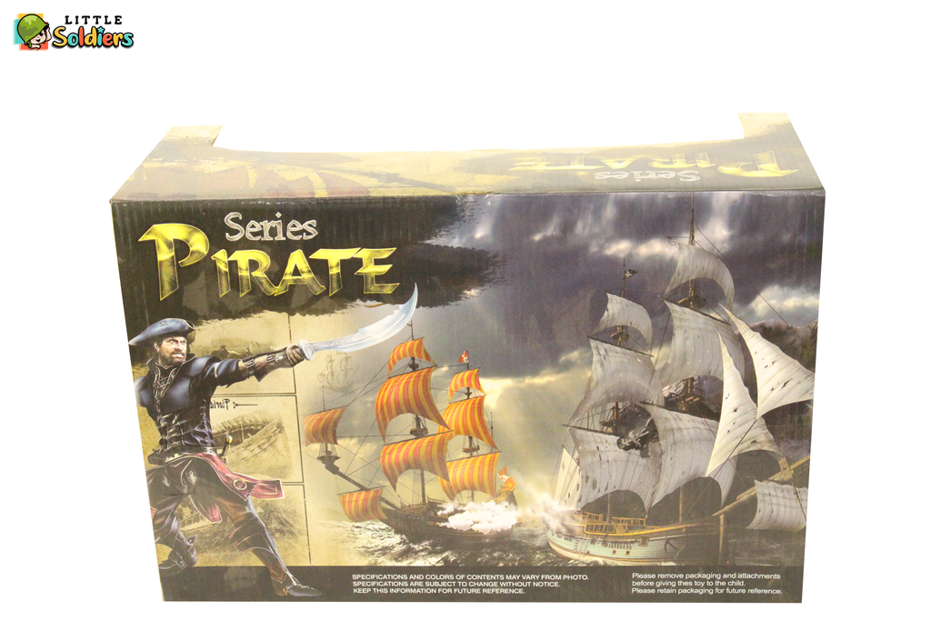 Interesting Pirate series set with a ship and pirates | Little Soldiers