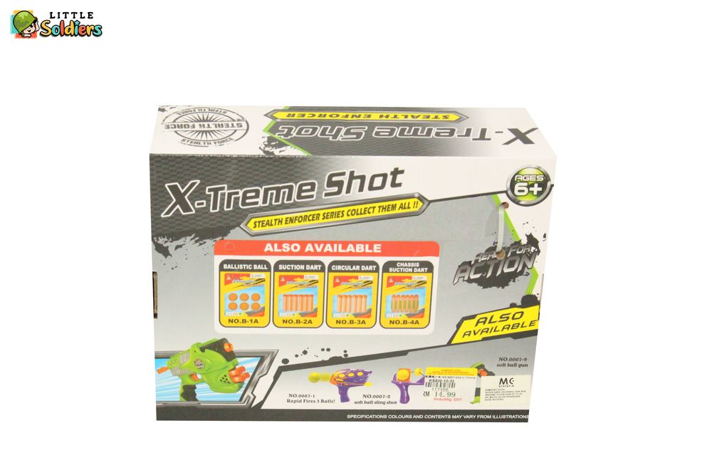 X-Treme Shot Gun Small | Little Soldiers