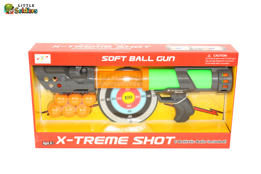 X-treme Shot Gun Big | Little Soldiers