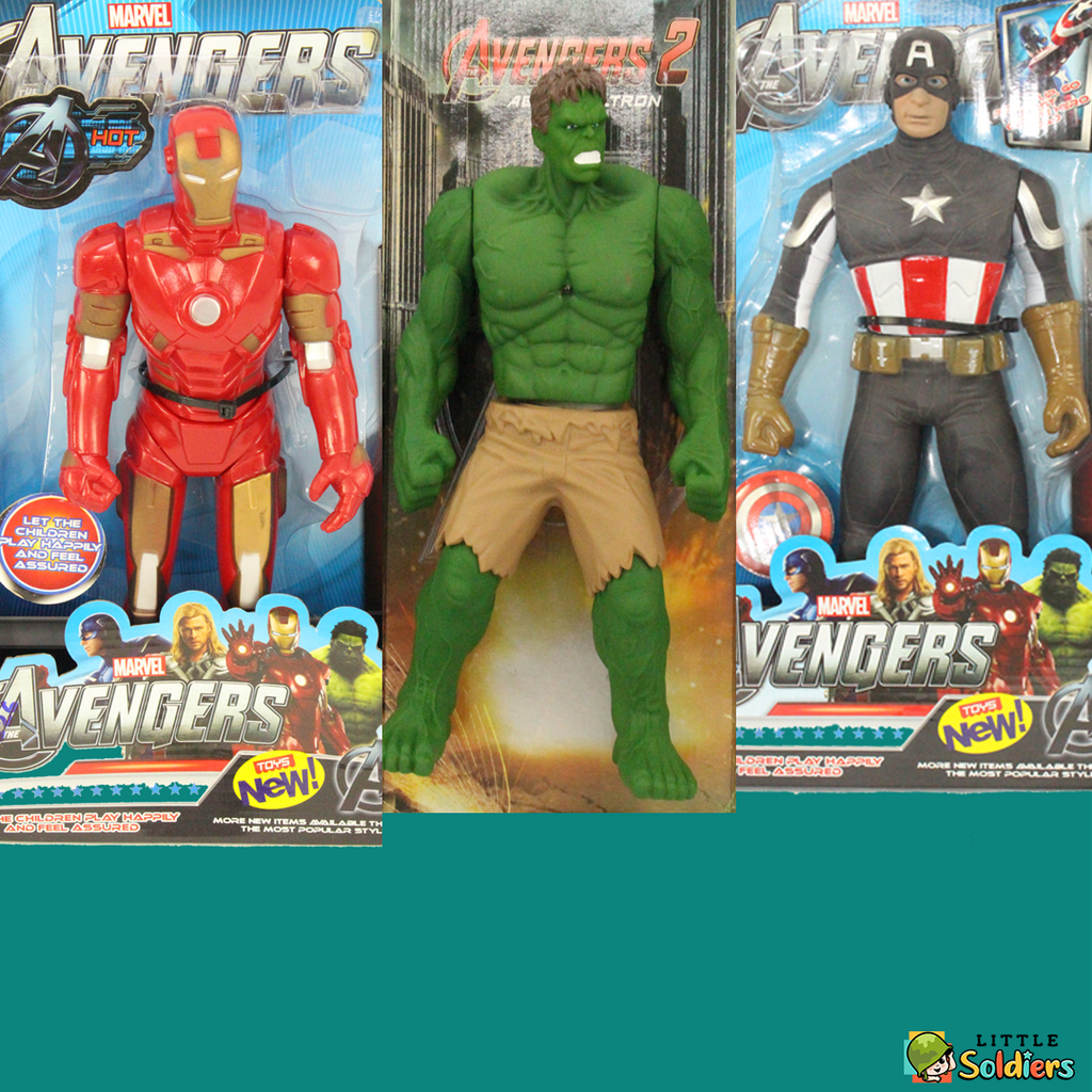 LittleSoldiers Avengers Super Heros Combos