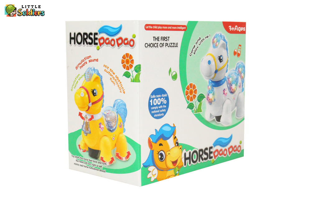 Horse animal cartooned Battery Operated Kids Toy | Little Soldiers