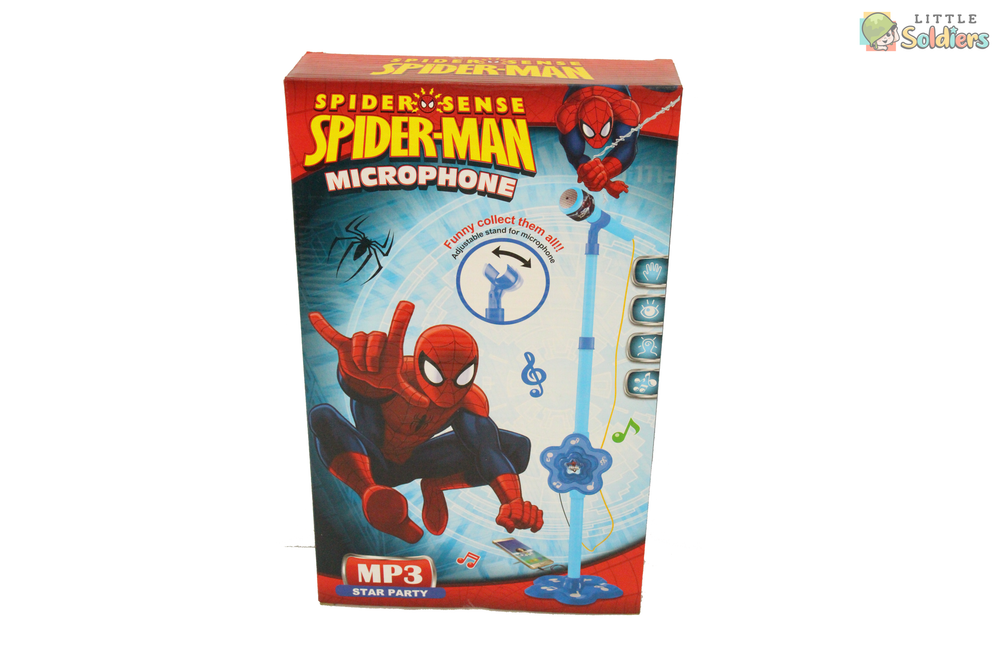 Spiderman Microphone | Little Soldiers