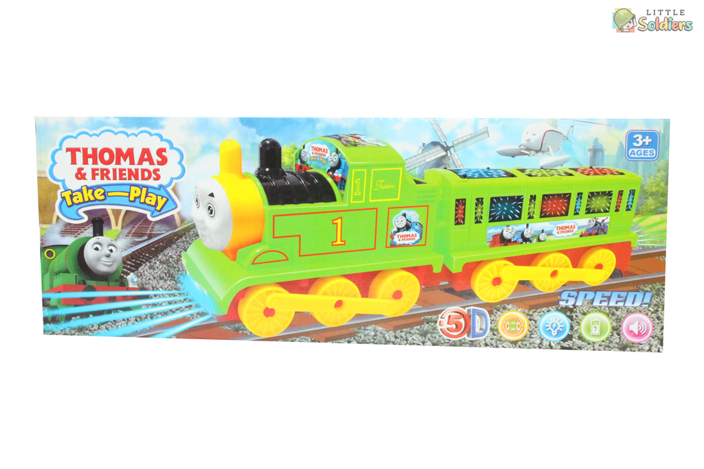 Thomas & Friends Take-Play Lightening Speed Train| Little Soldiers