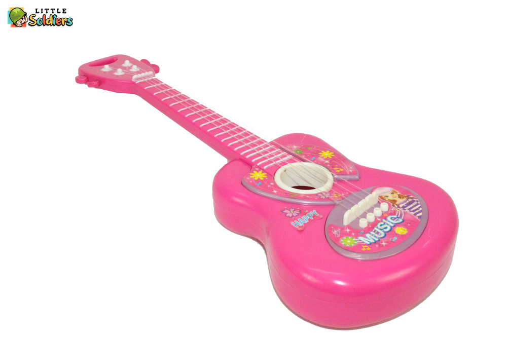 Guitar for kids (Pink Color) | Little Soldiers