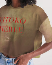 Load image into Gallery viewer, KITOKO CHÉRI(E) No.1 (2020) Women's Lounge Cropped Tee